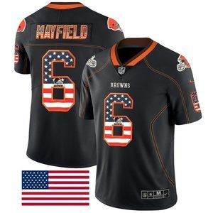 Cleveland Browns Baker Mayfield Brown   Jersey